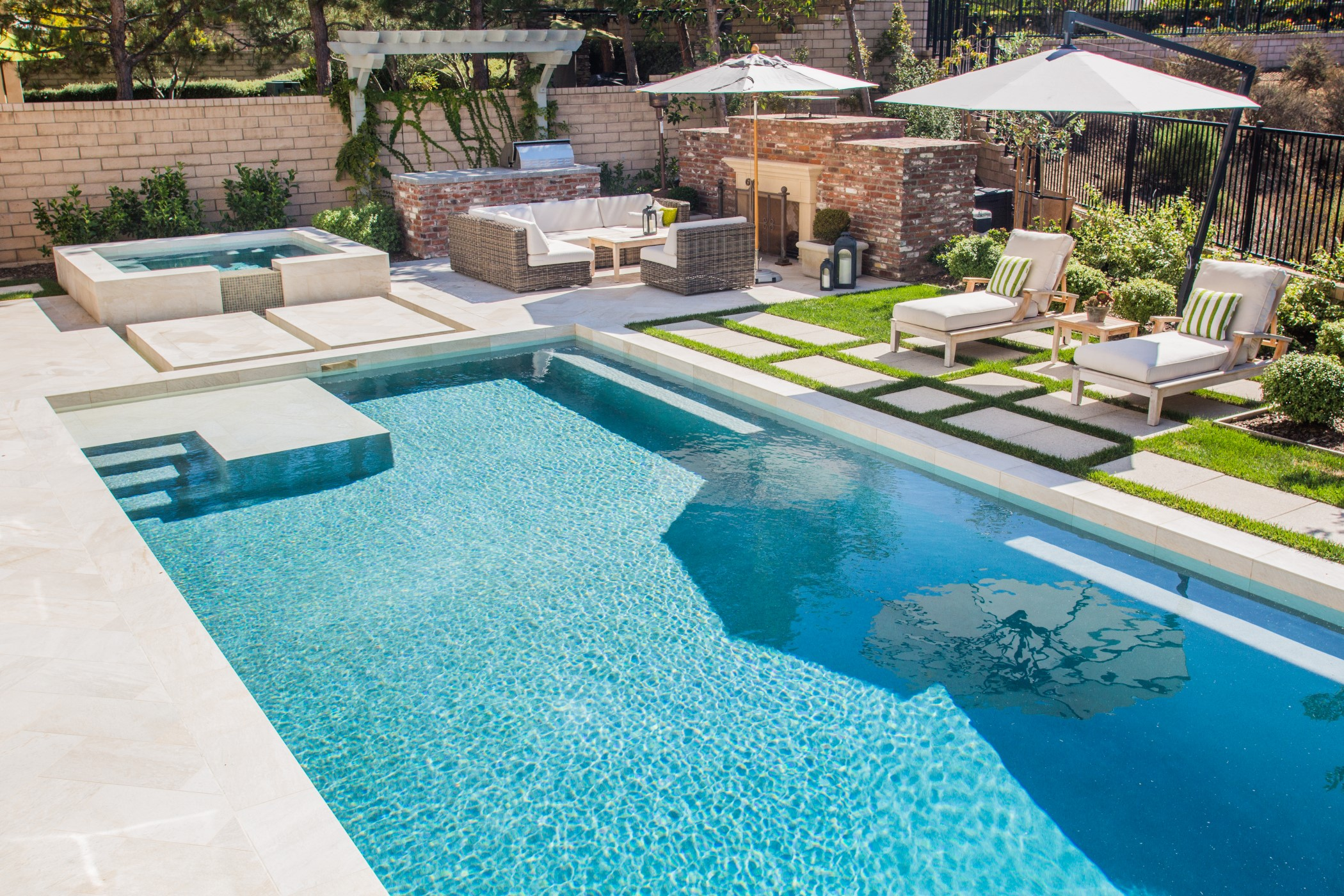 The pool doctor san diego pool builder new web presence for Pool design website